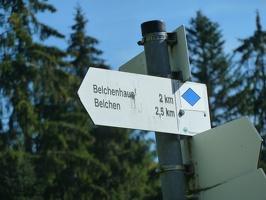 Belchen und Feldberg